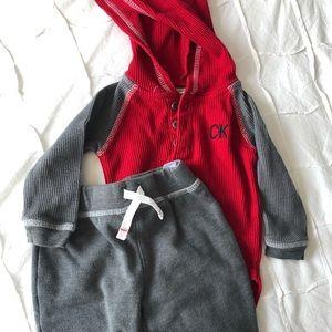 6-9 m Calvin Klein outfit